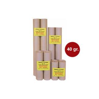 Apdengimo popierius Kraft Avana Acqua 85x200 cm